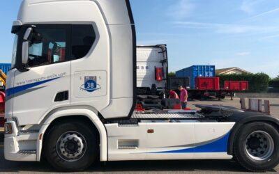 New fleet of SCANIA Euro 6 trucks