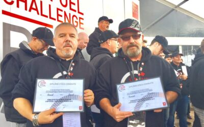 Our drivers, finalists of the Optifuel Challenge
